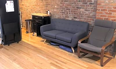 Living Room, 126 Willoughby Ave WF, 2