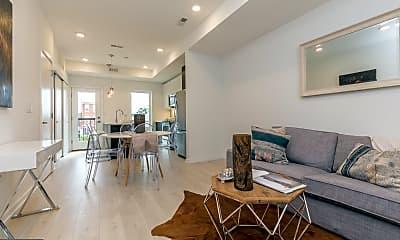 Living Room, 1241 N 27th St B, 0