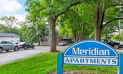 Community Signage, Meridian Apartments, 2