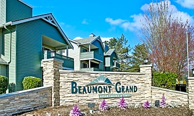 Community Signage, Beaumont Grand Apartment Homes, 2