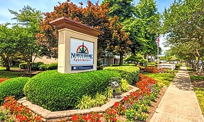 Community Signage, North Shore Gardens Apartments, 2