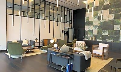 Living Room, 400 S Broadway 814, 1