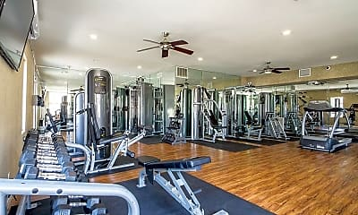 Fitness Weight Room, The Reserve at Warner Center, 1