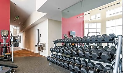 Fitness Weight Room, 400 W North St 722, 2