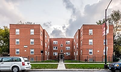 Building, 6125 S Wabash Apartments, 1