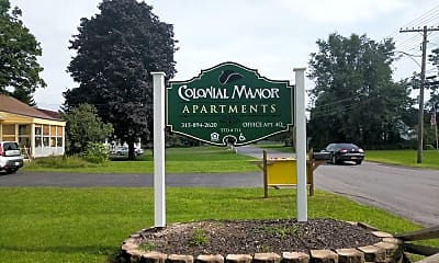 Colonial Manor Apartments, 1