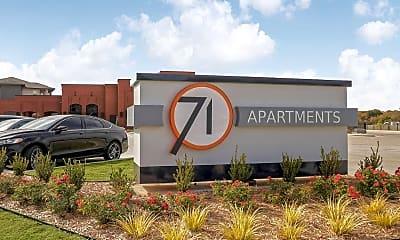 Community Signage, 71 Apartments, 2