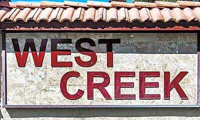 Community Signage, Westcreek, 2