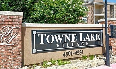 Community Signage, Towne Lake Village, 2