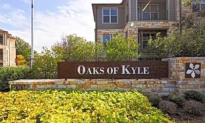 Community Signage, Oaks of Kyle, 2
