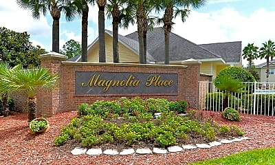 Landscaping, Magnolia Place, 2