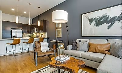 Living Room, 2206 Boll St, 2