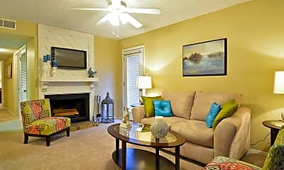 Living Room, Sommerset Apartments, 1