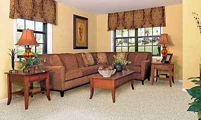 Living Room, Chapel Valley Townhomes, 2
