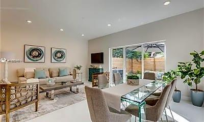 Living Room, 694 NE 43rd St 694, 0