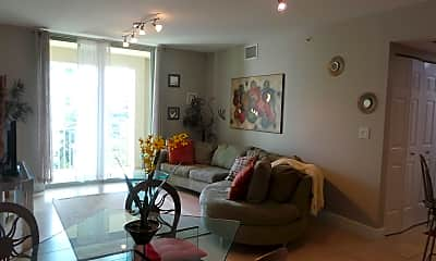 Living Room, 610 Clematis St 601, 0