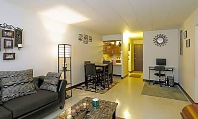 Living Room, Churchview Garden Apartments, 2