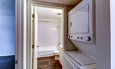 Bathroom, Northcrest Garden Apartments, 2
