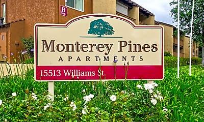 Community Signage, Monterey Pines, 2