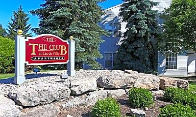 Community Signage, The Club At Lac De Ville, 2