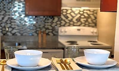 Kitchen, Saratoga Cove, 1