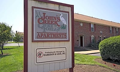 Community Signage, John's Creek Townhomes & Apartments, 0