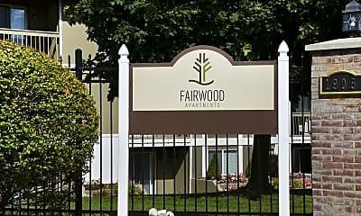Community Signage, Fairwood Apartments, 1