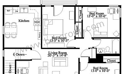 Building, 2321 81st St, 1