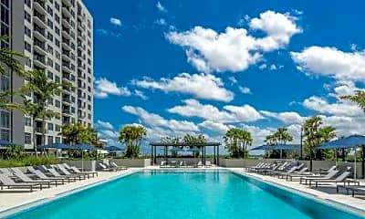 Pool, 416 SW 1st Ave 2108, 2
