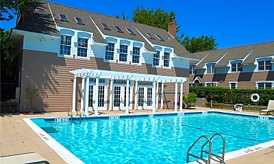 Pool, 62 Canoe Place Rd 517, 1