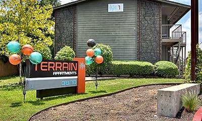 Community Signage, Terrain, 0