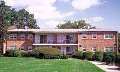 Building, Overbrook Apartments, 2