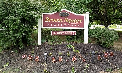 Brown Square, 1