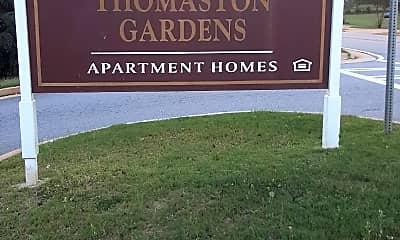 Thomaston Gardens Apartments, 1
