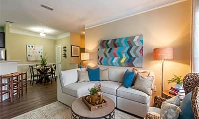 Living Room, Hannover Grand at Sandy Springs, 1