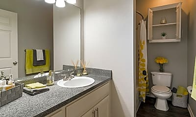 Bathroom, Residences at Holly Oaks, 2