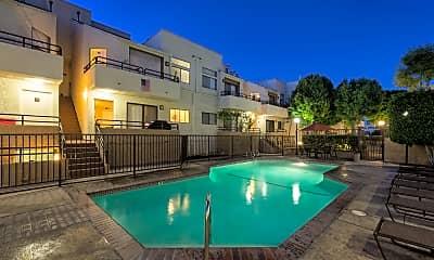 Pool, NMS Northridge: Apartments Near CSUN, 1