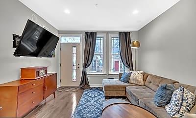 Living Room, 423 Dudley St, 1