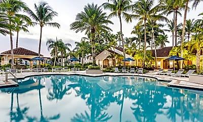 Pool, Miramar Lakes Apartments, 1