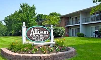 Community Signage, Allison Apartments, 0