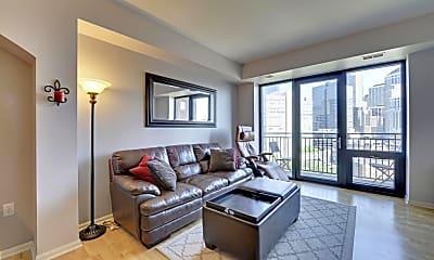 Living Room, 500 E Grant St 1004, 0