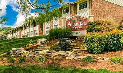 Community Signage, Allandale Falls, 0