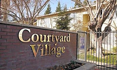 Community Signage, Courtyard Village, 2