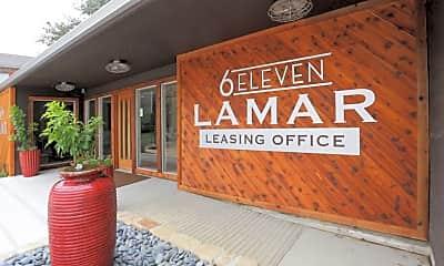 Community Signage, 6 Eleven Lamar, 1