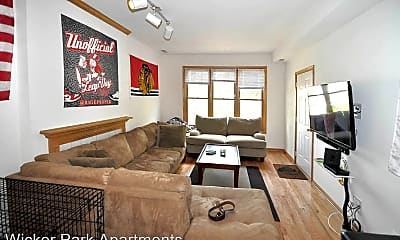 Living Room, 2147 W Crystal St, 0