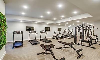 Fitness Weight Room, 837 S. Harvard, 2