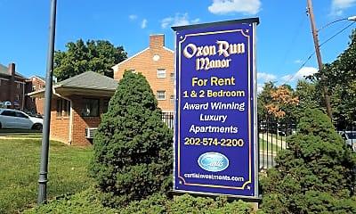 Oxon Run Manor, 1