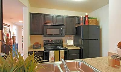 Kitchen, Egate Apartments, 1