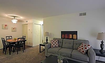 Living Room, MacArthur's Lake, 1