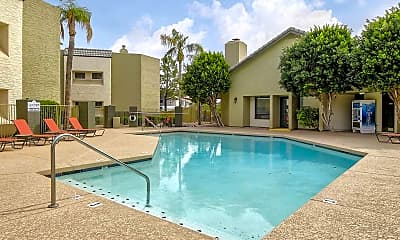 Pool, Dana Park Apartments, 1